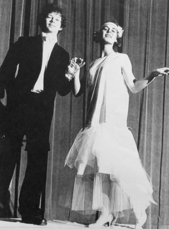 Mike Mehta and Karen Larby in My Fair Lady