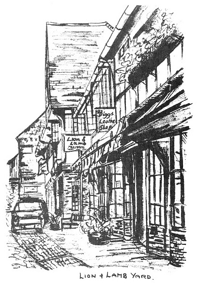 Lion and Lamb Yard Farnham