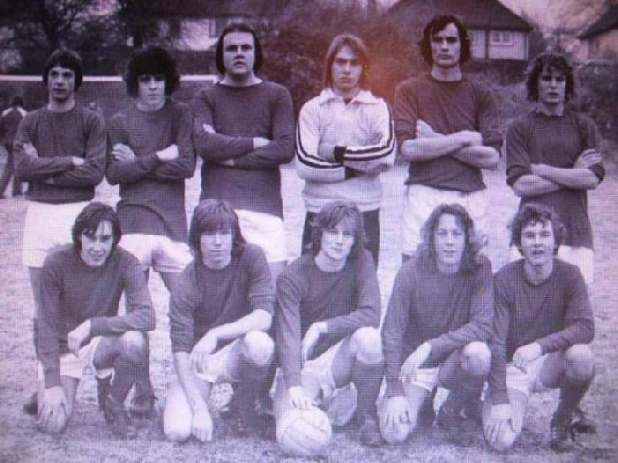 Farnahm College First team for the 1976-77 season