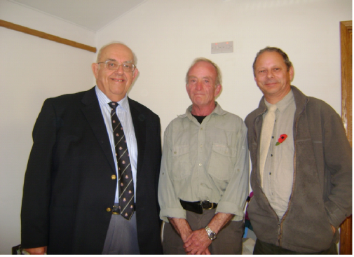 Cyril Trust, David Graham and Mike Mehta