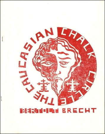 "Programme cover for ""The caucasian Chalk Circle"", Farnham College, 1976"