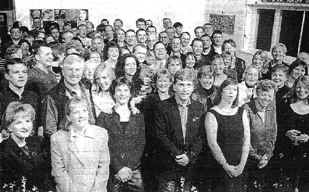 The Reunion, Farnham College, November 2000