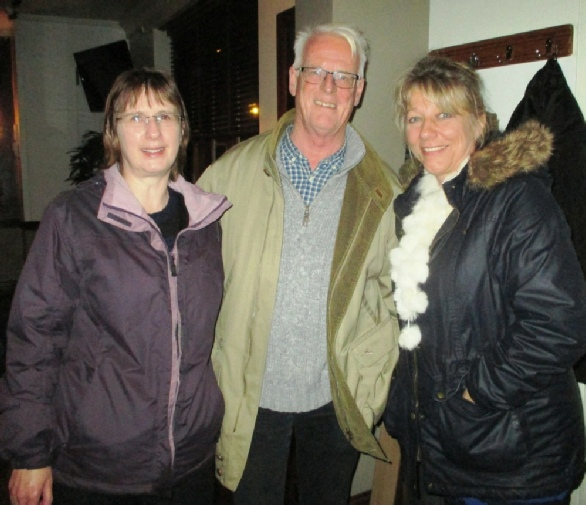 John Commerford, Sarah Jackson and Penny Bryant