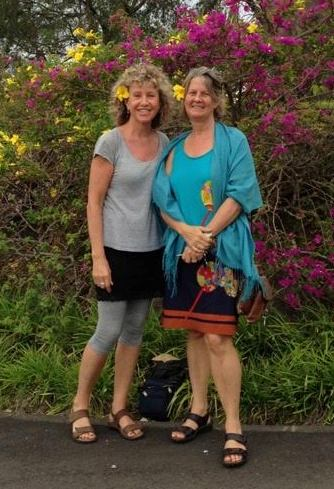 Sally Ann and Georgie Heathcote, Mauritius, 2016